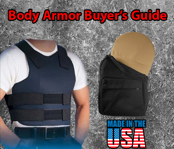 Header for Body Armor Buyer Guide