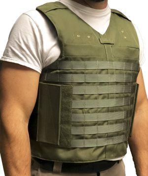 Green Full Molle Load Bearing Vest