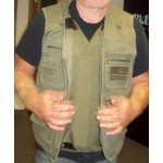 Concealment Vest with Removable Level 3A Ballistic Protection