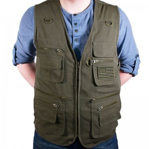 Reactor Concealment Vest: The Original 22 Pocket Concealed Carry Vest