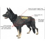 K-9 Level 3A Standard Ballistic Vest with Stab Resistance