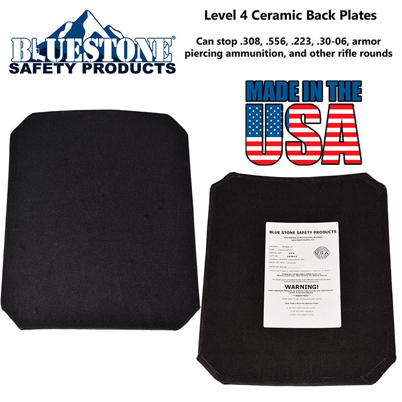 Level 4 Full Cut Rifle Plate - Stand Alone 10. Product Code SH-FC-03  sc 1 st  BlueStone Safety Products & Level 4 Full Cut Rifle Plate - Stand Alone 10