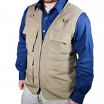 Outback Reactor Concealment Vest with 14 Pockets - Tan
