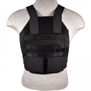 Tactical Grab and Go Level IIIA(3A) Body Armor vest - Black