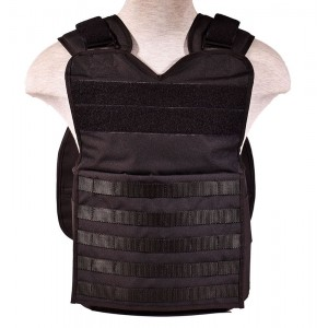 Level 4 Tactical Plate Carrier Vest - Molle Ballistic Armor Plate Carrier - Black, One Size Fits All
