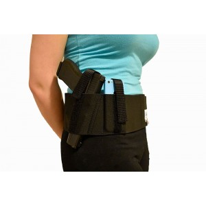 Women's Concealed Carry Belly Band Holster (Fits Compact-Full)