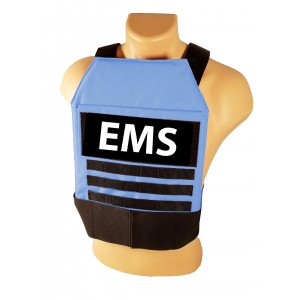 Tactical Grab and Go Level 3A Body Armor Vest - First Responder/ EMS Blue