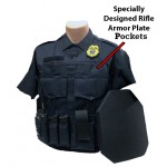 Custom Load Bearing Vest W/ Rifle Plate Pockets (Front & Back) | BCE-Custom-LVL4