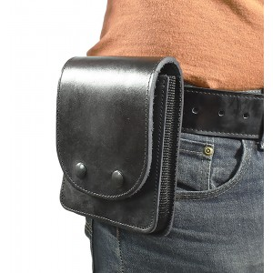 Leather Multipurpose Concealment Case Hidden Handgun Holster for Concealed Carry - Small, 5